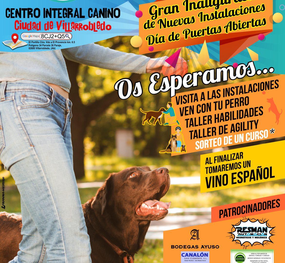 Inauguración Instalaciones Centro Integral Canino